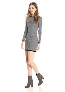 French Connection Women's Starzy Stripe Long Sleeve Sweater Dress