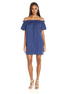 French Connection Women's Stayton Ruffle Dress