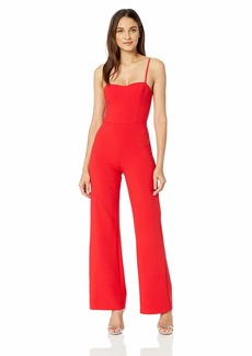 French Connection Women's Strappy Slightly Flared Leg Jumpsuit