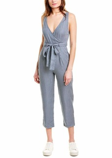 French Connection Women's Stripe Belted Jumpsuit