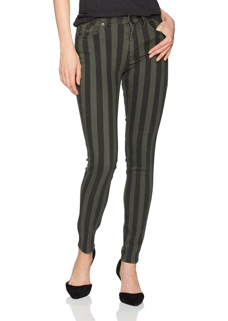 French Connection Women's Stripey Stretch Denim Jeans