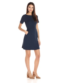 French Connection Women's Sudan Marl Fit and Flare Dress
