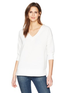 French Connection Women's Sudan Solid Color Jumper Top  l