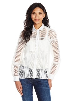 French Connection Women's Summer Cage Top