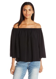 French Connection Women's Summer Crepe Light Bell Sleeve  XS