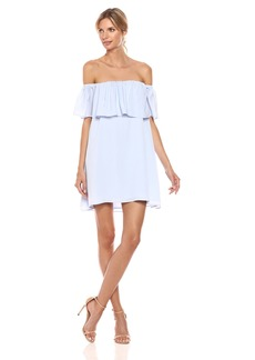 French Connection Women's Summer Crepe Light Ots Dress  S