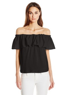 French Connection Women's Summer Crepe Light Top  M