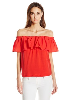 French Connection Women's Summer Crepe Light Top  S