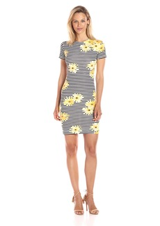 French Connection Women's Sunflower Stripe Dress