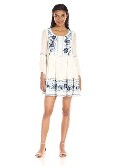 French Connection Women's Sunshine Bloom Long Sleeve Dress