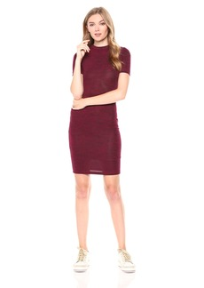 French Connection Women's Sweeter Sweater Dresses Baked CherryMini