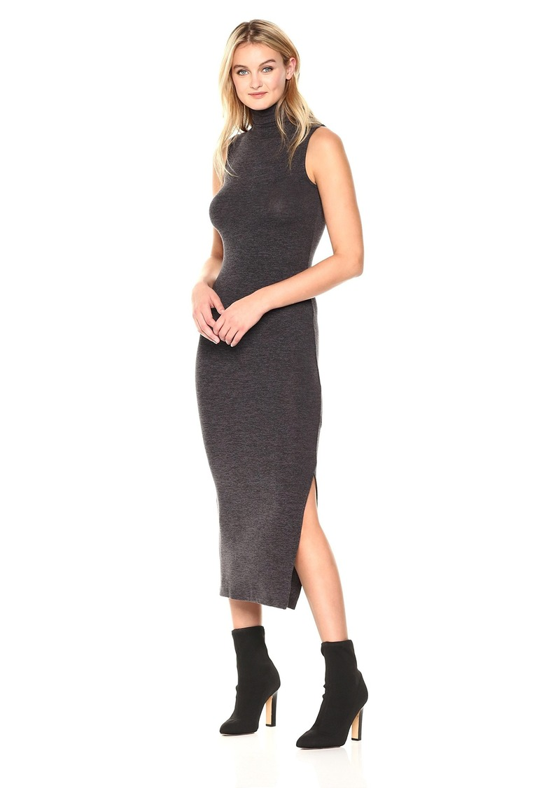 French Connection Women's Sweeter Sweater Sleeveless Dress Chrcoal/BL S