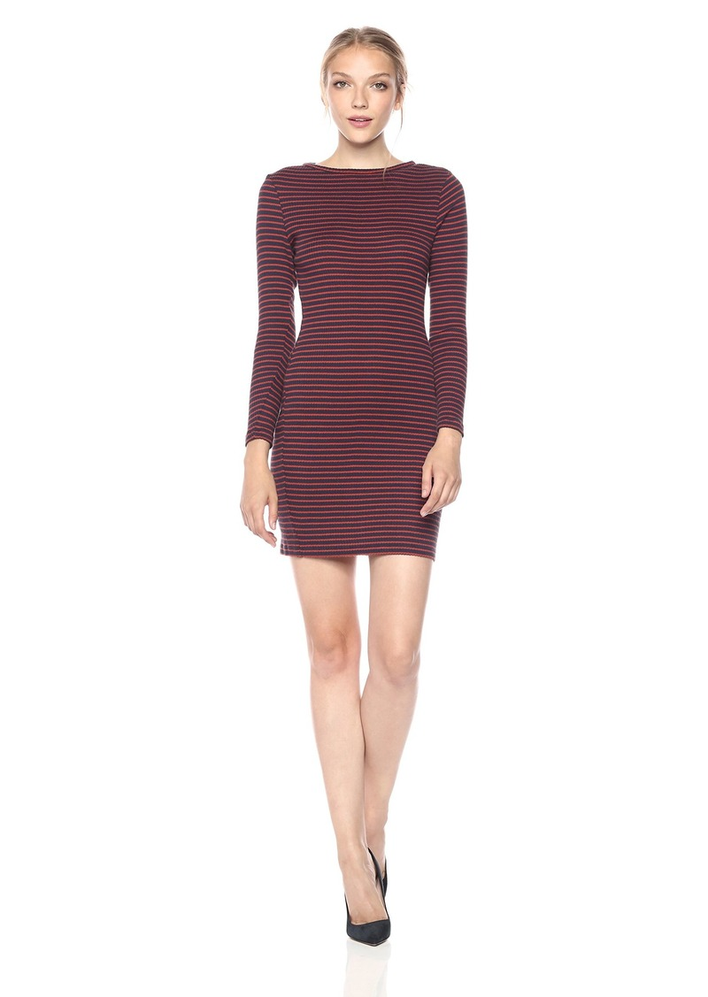 French Connection Women's Sweeter Sweater Stripe Dress  S