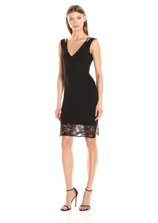 French Connection Women's Tatlin Beau Jersey Strappy Dress