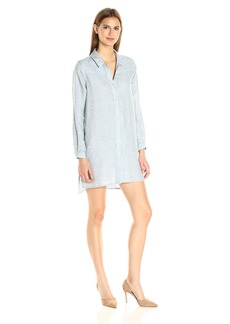 French Connection Women's Tencel Chambray Dress