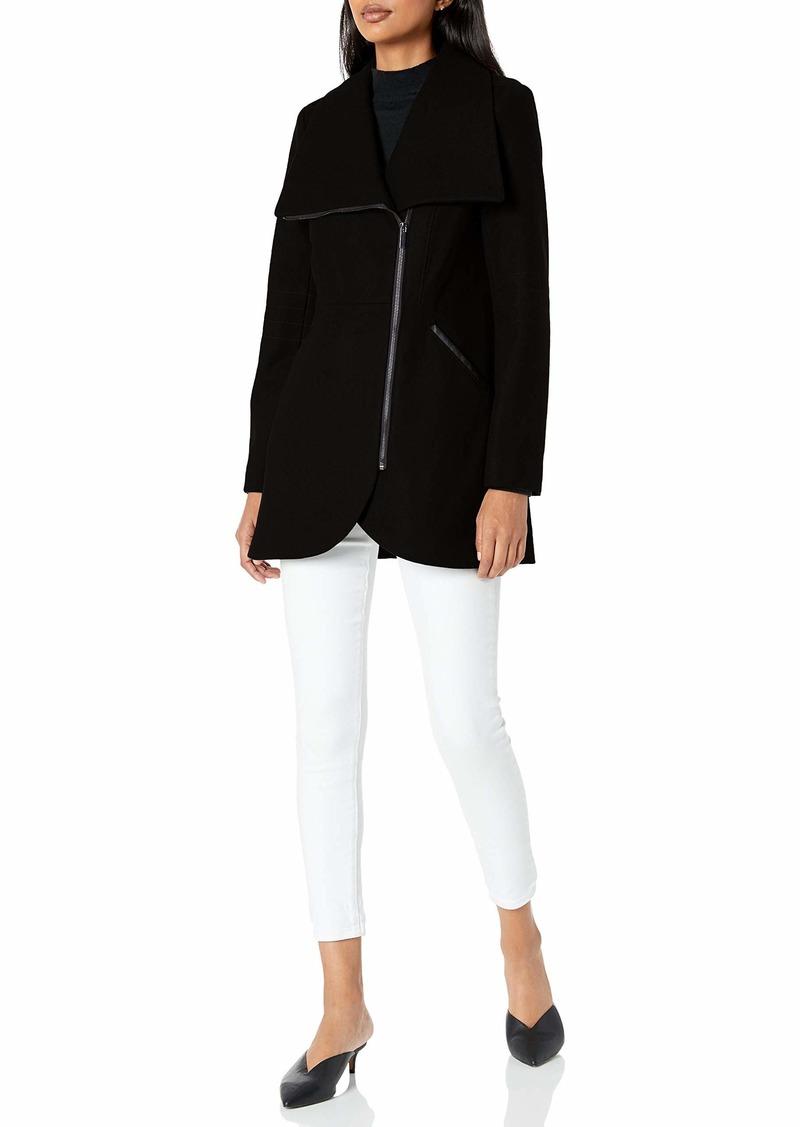 French Connection Women's Tulip Hem Coat