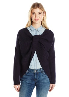 French Connection Women's Twist Back Shaker Knits Sweater  XS