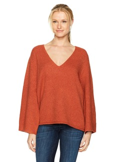 French Connection Women's Urban Flossy Bell Sleeve  L