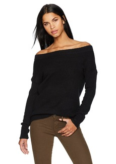 French Connection Women's Urban Flossy Off The Shoulder Sweater  L