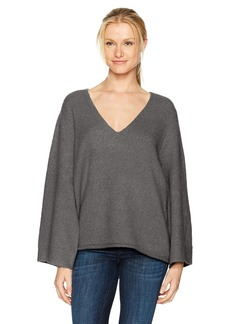 French Connection Women's Urban Flossy Wide Sleeve Sweater  M