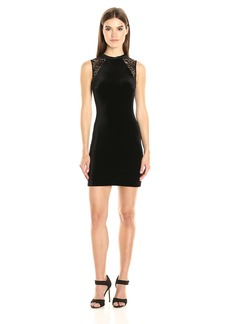French Connection Women's Velvet Viven Dress