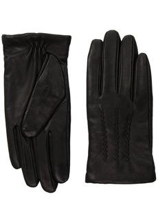 French Connection Women's Verla Pin Tuck Glove black S/M
