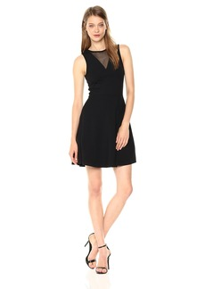 French Connection Women's Viola Mesh Dress