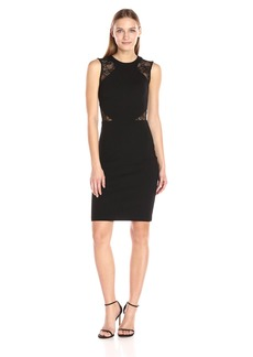 French Connection Women's Viven Lace Cap Sleeve Dress