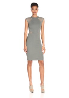 French Connection Women's Viven Paneled Jersey Dress