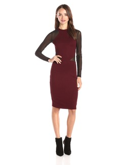 French Connection Women's Viven Paneled Long Sleeve Dress