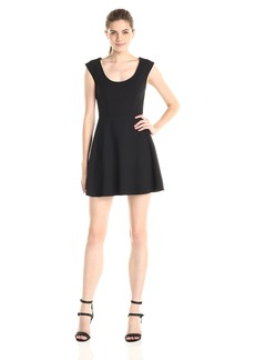 French Connection Women's Whisper Light Dress Black