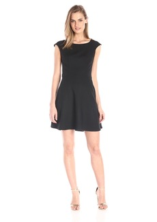 French Connection Women's Whisper Light Fit and Flare Dress