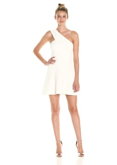 French Connection Women's Whisper Light One Shoulder Dress