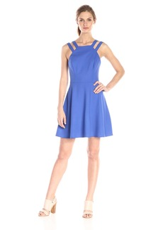 French Connection Women's Whisper Light Strappy Flared Dress