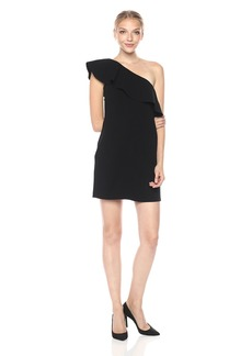 French Connection Women's Whisper Ruth Ruffle Dress