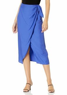French Connection Women's Wrap Midi Skirt  L