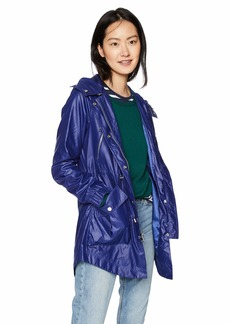 French Connection Women's Zip Front Anorak with Hood