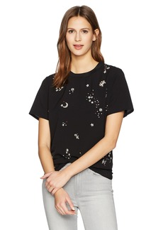 French Connection Women's Zodiac Crepe Light Top  M