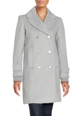 French Connection Wool-Blend Long Coat