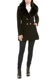 French Connection Wool-Blend Peacoat