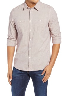 French Connection Workwear Chambray Button-Up Shirt