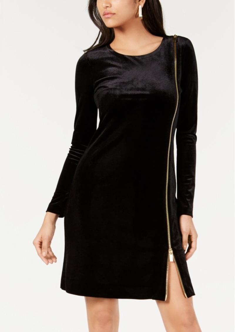 French Connection Zella Aurore Velvet Dress