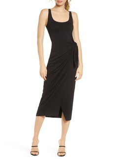 French Connection Zenna Sleeveless Faux Wrap Dress
