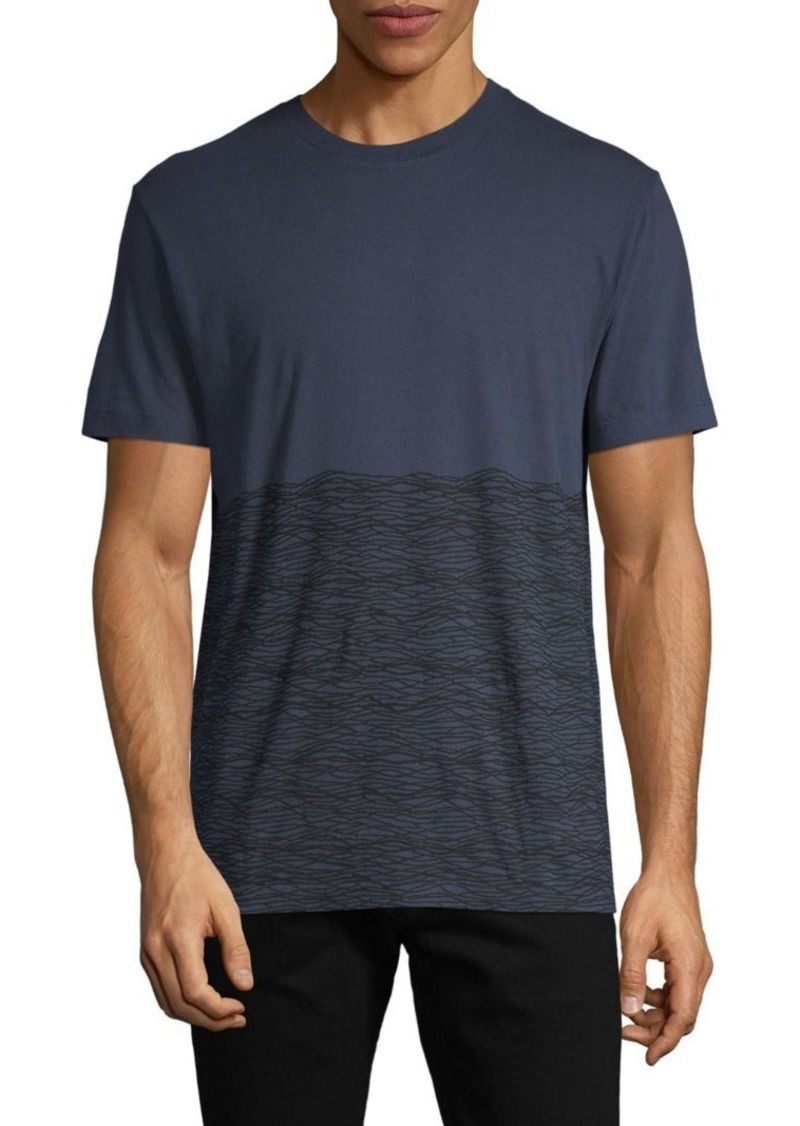 French Connection Graphic Short-Sleeve Cotton Tee