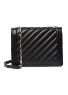 French Connection Hayes Quilted Flap Shoulder Bag