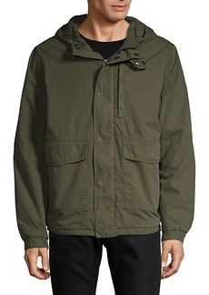 French Connection Hooded Cotton Jacket