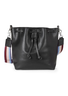 French Connection Jayden Faux Leather Crossbody Bag