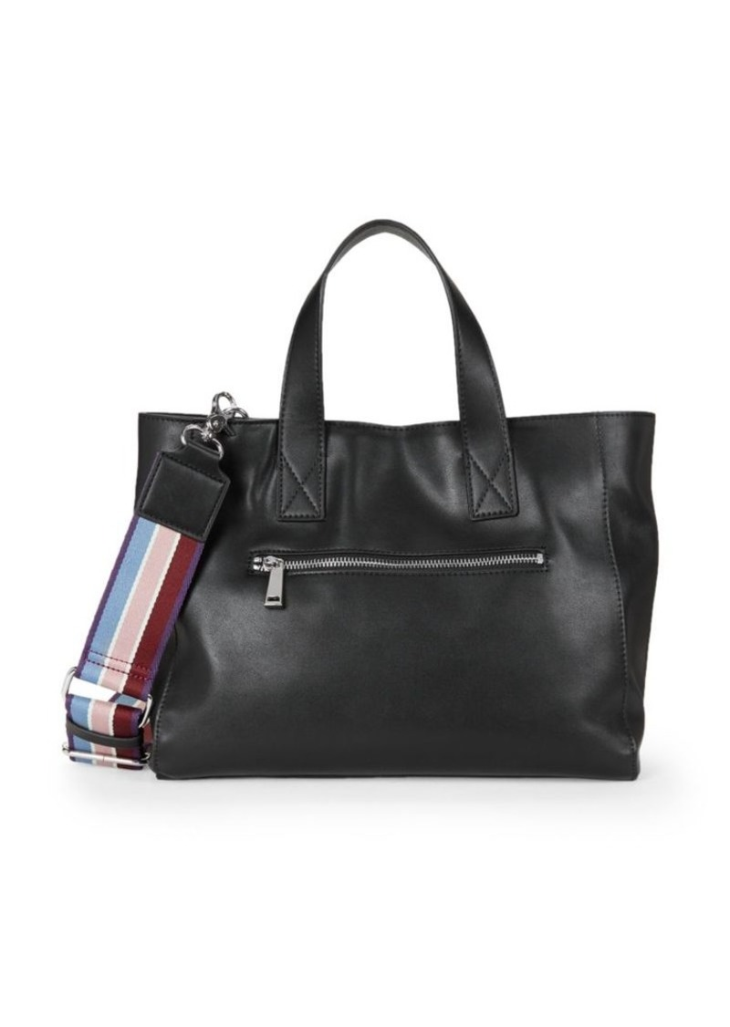 French Connection Jayden Faux Leather Satchel Bag