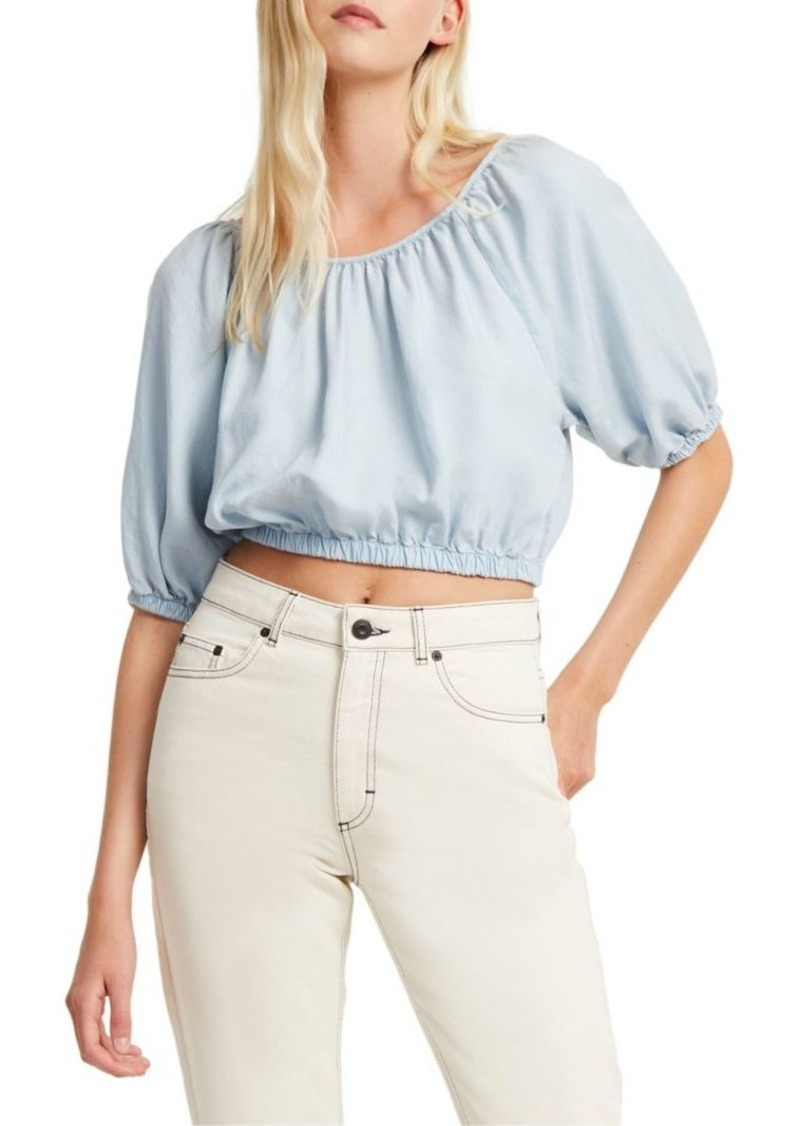 French Connection Julienne Boho Crop Top