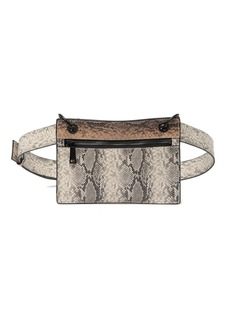 French Connection Leather Kimberly Slim Belt Bag